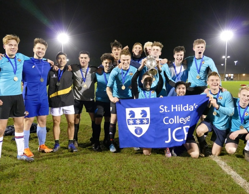 St Hilda's wins Football Cuppers 2020