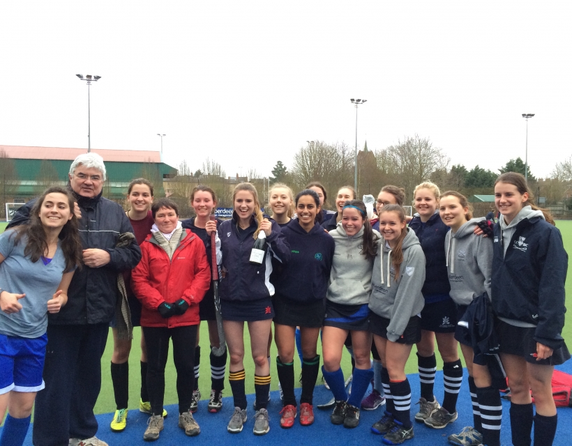 Quilda's Hockey Victory