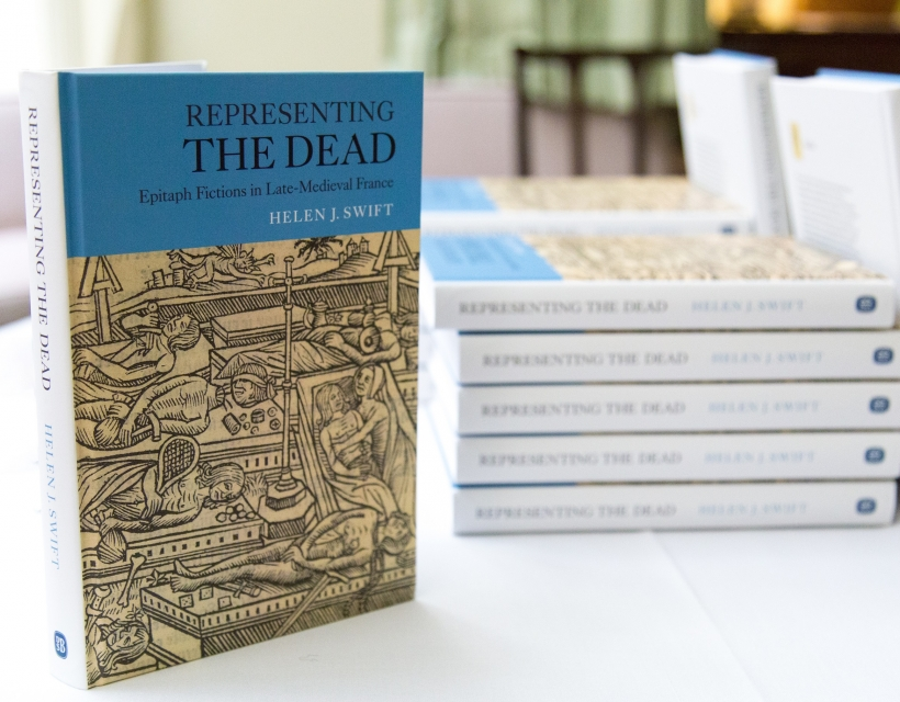 Launch of 'Representing the Dead' by Dr Helen Swift