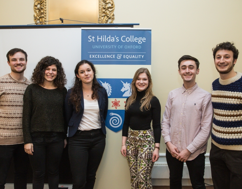 Middle Common Research Forum - St Hilda's College, Hilary Term 2018