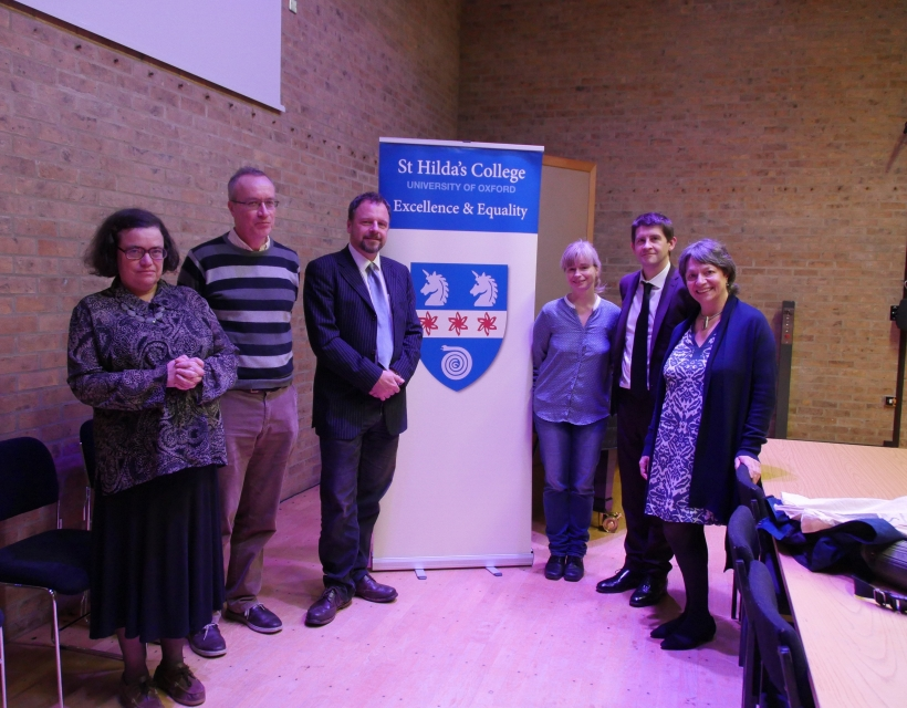 Music and the Brain speakers, St Hilda's College