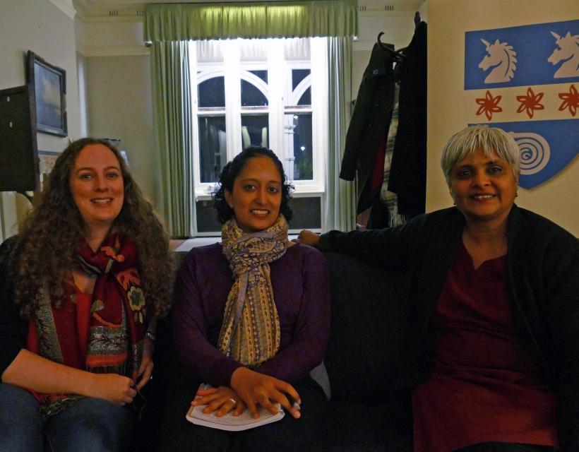 Speakers at The Feminist Salon, St Hilda's College, November 2016