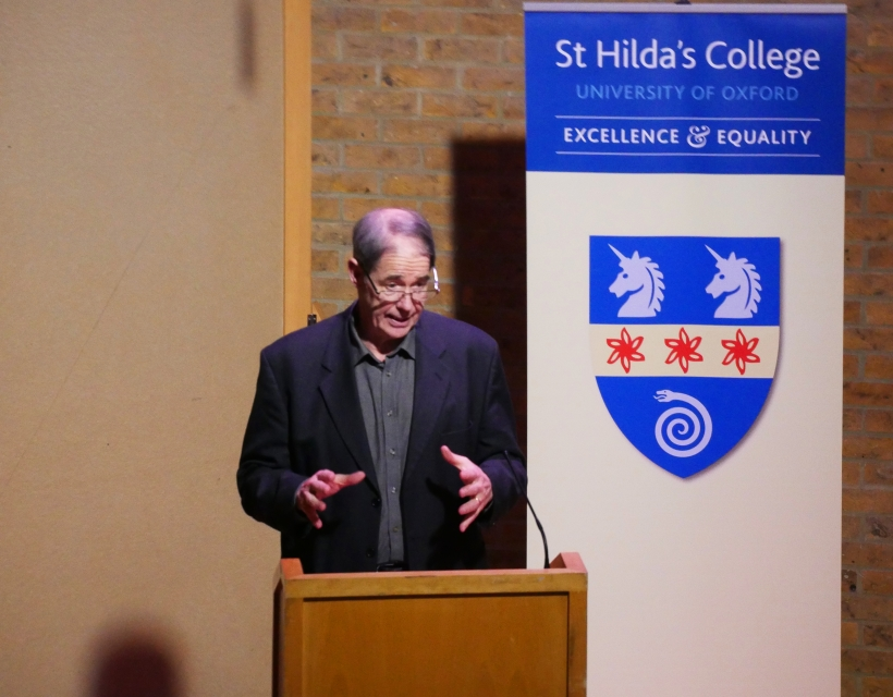 Leading environmental campaigner Jonathan Porritt delivers the annual Sue Lloyd-Roberts memorial lecture