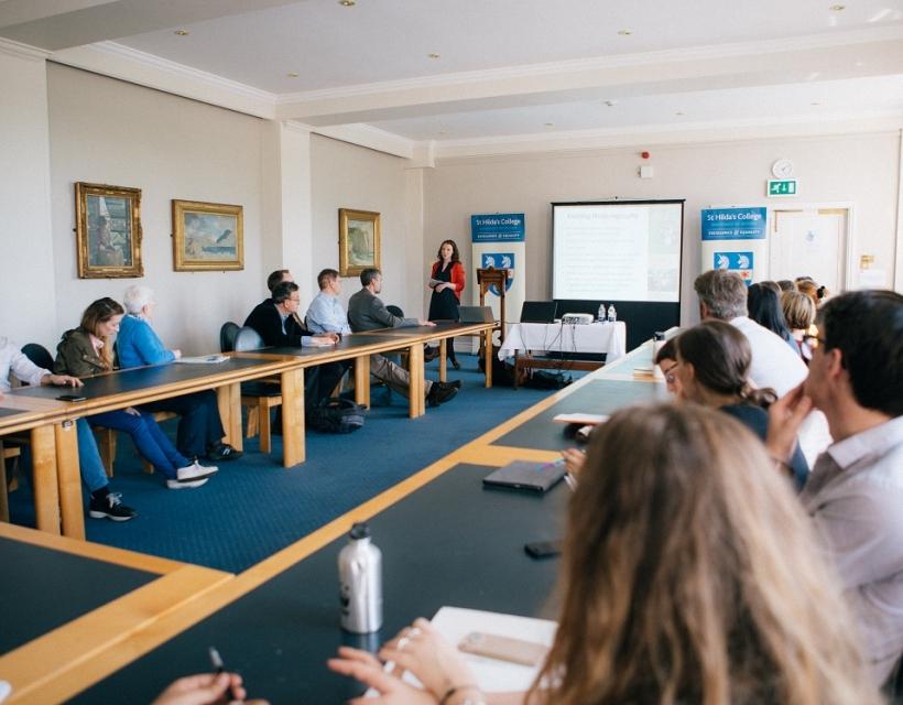 Seminar in the Vernon Harcourt Room, St Hilda's College, University of Oxford
