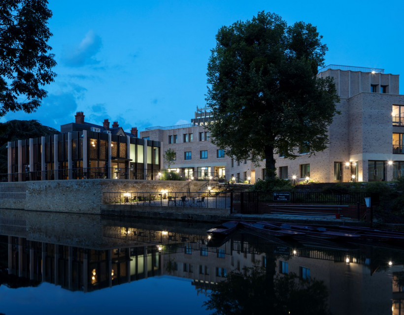 St Hilda's Anniversary Building and Pavilion photo by Nick Kane