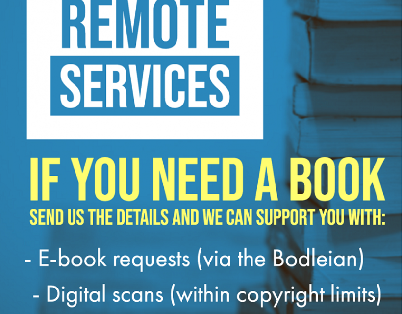 St Hilda's Library Remote Services