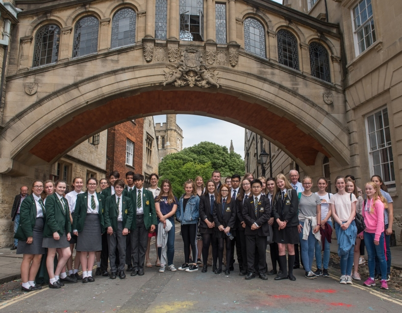Current Events for School Groups at St Hilda's College, University of Oxford
