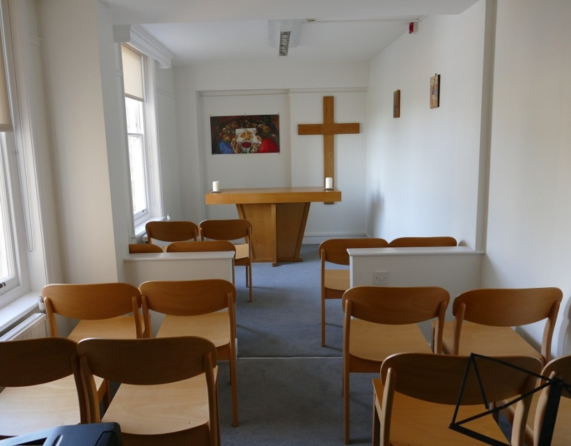 Temporary Chapel at St Hilda's College, University of Oxford