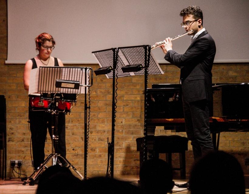 Student concert in the Jacqueline du Pre Music Building