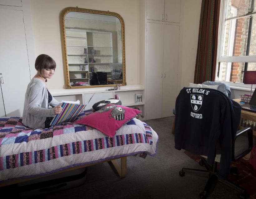 Undergraduate student room