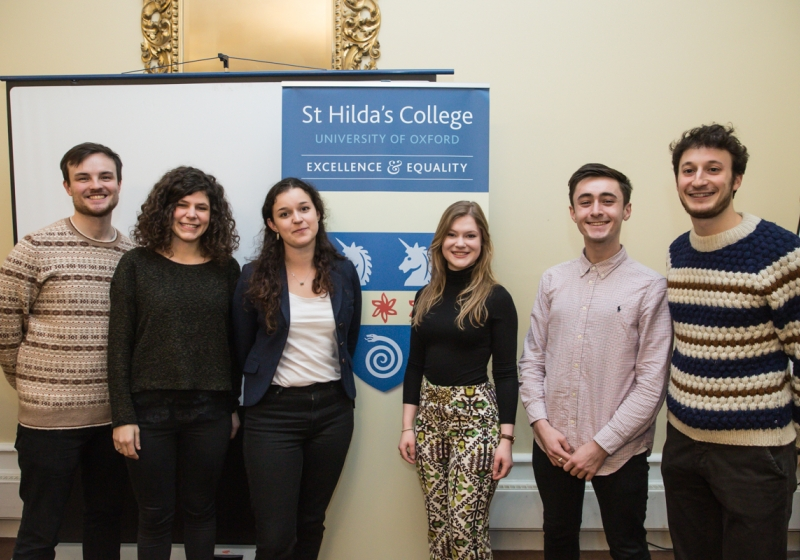 Middle Common Room Research Forum, St Hilda's College
