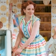 Theatr Clwyd's production of 'Home, I'm Darling', starring Katherine Parkinson, wins the Olivier Award for best new comedy.