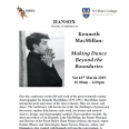 Book tickets for 'Kenneth MacMillan: Making Dance Beyond the Boundaries'