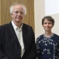 Philip Pullman and Dr Margaret Kean