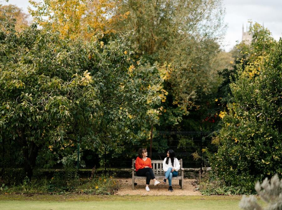 Hall Garden at St Hilda's College