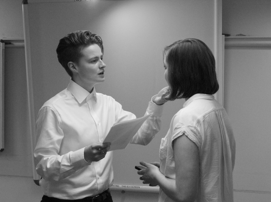 'The Picture of Dorian Gray' Drama Society rehearsal, Hilary Term 2016