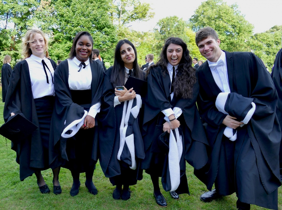Graduation Day at St Hilda's College 28 September 2018