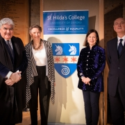 Lyse Doucet gave the Sue Lloyd-Roberts Memorial Lecture: 'Journalism in Crisis – What Would Sue do?'