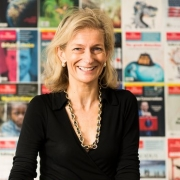 Zanny Minton Beddoes, St Hilda's alumna and Editor of the Economist, talks about the publication's 'shiny digital future'.