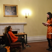 'Notes on Being Teenage' reading by Rosalind Jana at St Hilda's