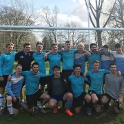 St Hilda's Men's Football Team wins the 2020 Cuppers quarter finals vs Worcester