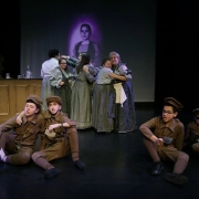 Scenes from a Play: It's the Wrong Way to Tickle Mary and Q&A session