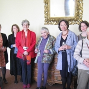 Dr Kate Millett at a lunch in her honour with St Hilda's Fellows past and present (May 2011)