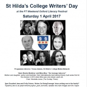 St Hilda's College Writers' Day Oxford Literary Festival 2017