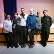 Sir Richard Alson discussed his life and work at a DANSOX event at the Jacqueline du Pre Music Building, St Hilda's College