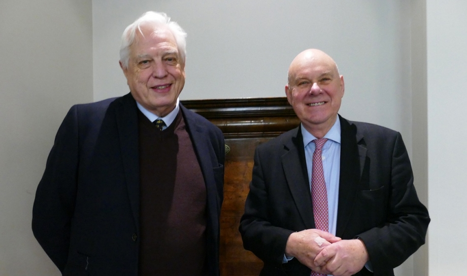 Chaplain's Chat with Canon Mountford and John Simpson
