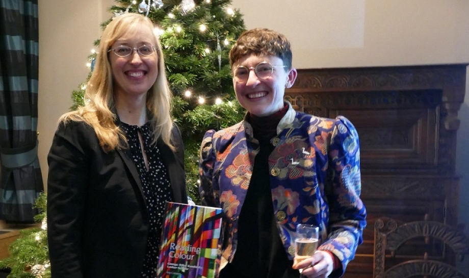 Book Launch of Reading Colour by Dr Rey Conquer, Lecturer in German, St Hilda's College