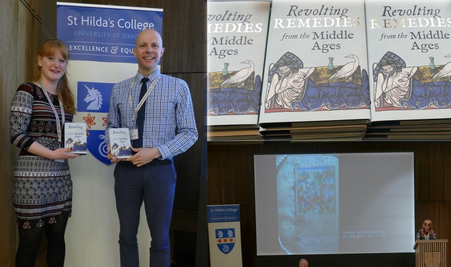 Professor Daniel Wakelin and Hannah Bowers present 'Revolting Remedies from the Middle Ages'