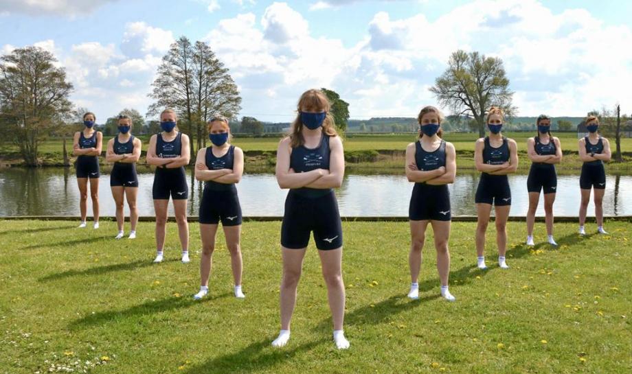 St Hilda's student, Katherine Ferris, is President of Oxford University Women's Lightweight Boat Club's 2021 blue boat.