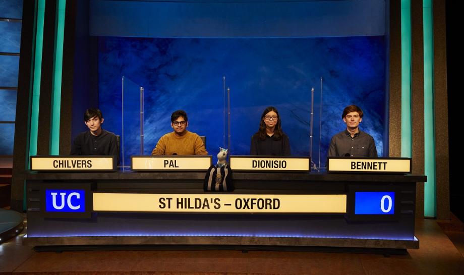St Hilda's competes in University Challenge