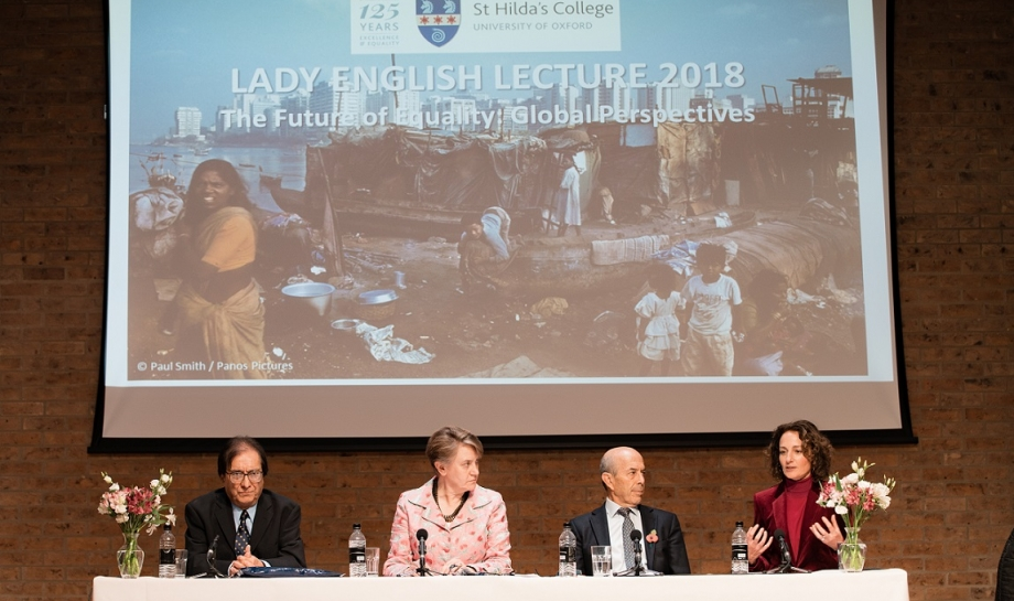 Lady English Lecture 2018 - The Future of Equality: Global Perspectives.