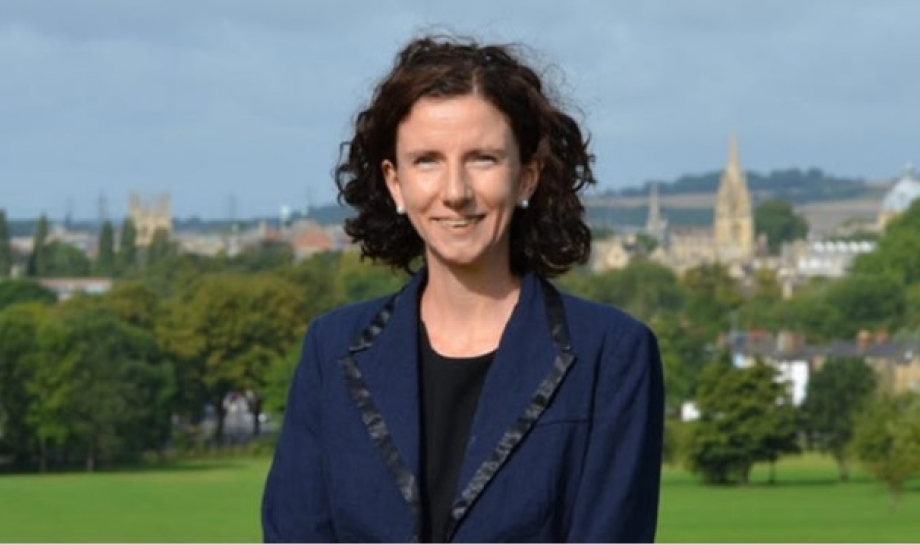Anneliese Dodds at Chaplain's Chat, St Hilda's College