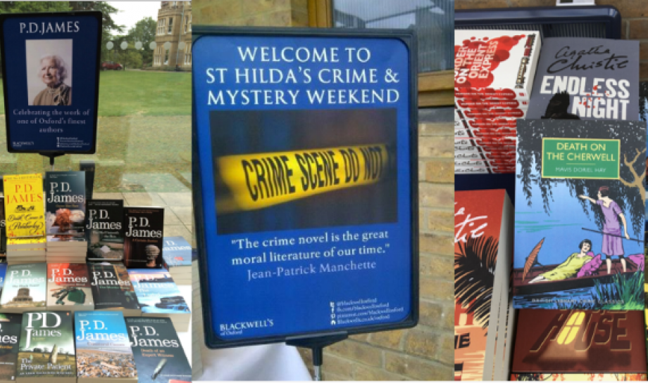 Crime Fiction Weekend 2020, St Hilda's College