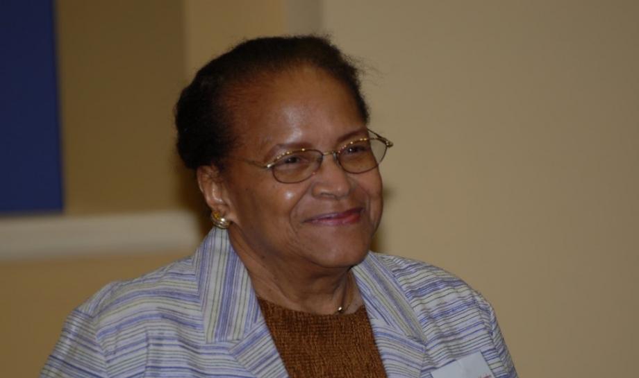 Dr Joyce Mitchell Cook photograph