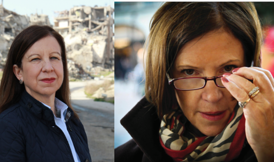 Sue Lloyd-Roberts and Lyse Doucet