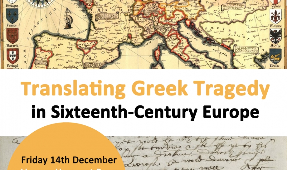 Translating Greek Tragedy in Sixteenth Century Europe