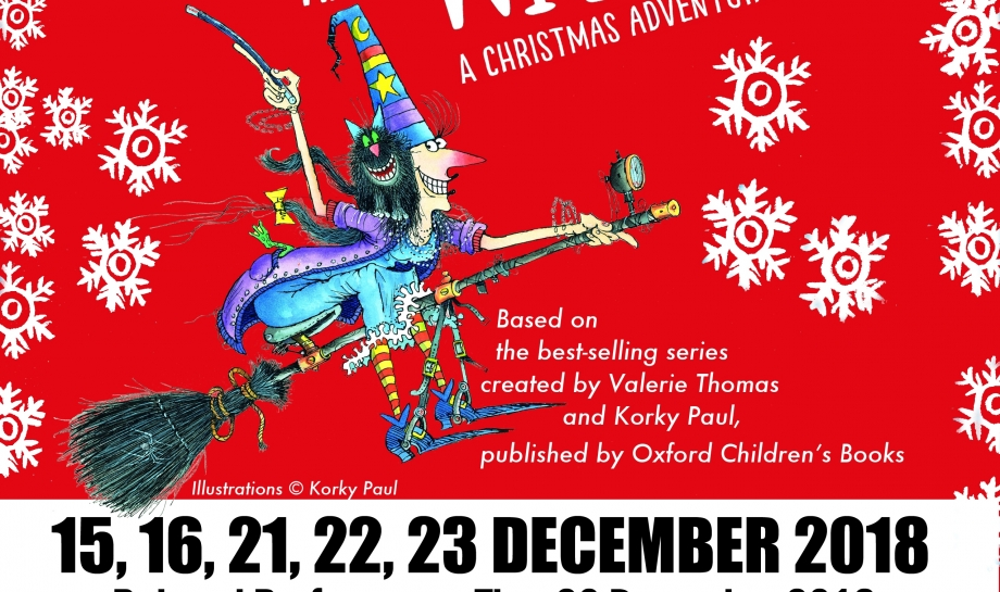 Winnie the Witch Christmas Adventure at the Jacqueline du Pre Music Building