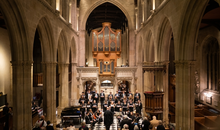 St Hilda's College Christmas Concert, University Church of St Mary the Virgin, 4 December 2019