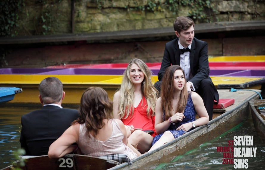 Arriving at the May Ball 2016