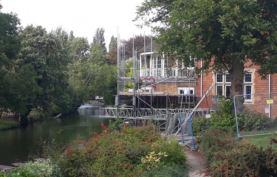 Demolition of Milham Ford begins at St Hilda's College