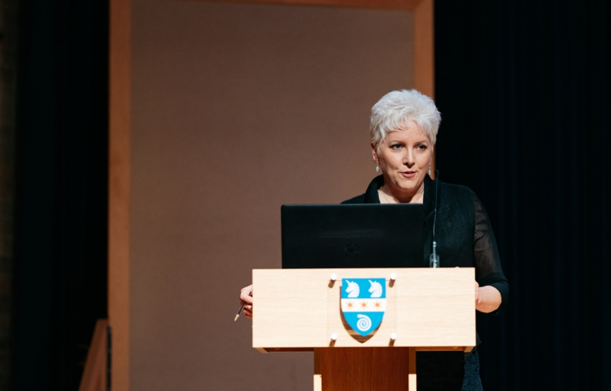 Author and broadcaster, Carrie Gracie, gives the 2020 Sue Lloyd-Roberts Memorial Lecture on 'Our Woman in China: One Big Story Through The Female Lens'