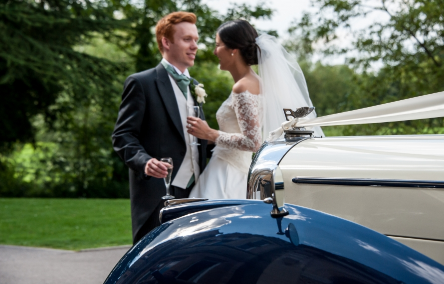 Bride and Groom, St Hilda's College