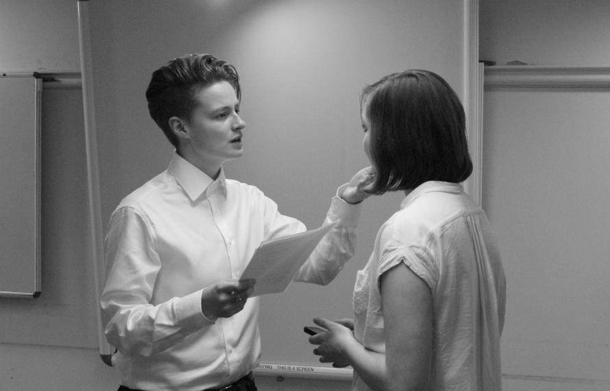 'The Picture of Dorian Gray' Drama Society rehearsal, Hilary Term 2016