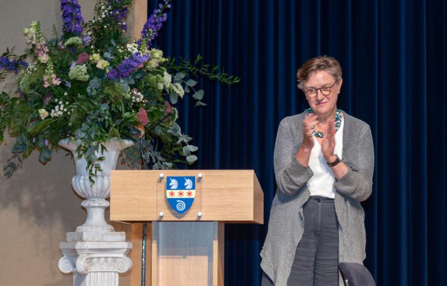 Farewell to Sir Gordon Duff, Principal of St Hilda's College 2014 - 2021, speech by Dr Georgina Paul