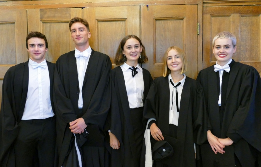 Graduation Day at St Hilda's College, 29 September 2018