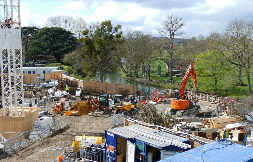 We are transforming our site at St Hilda's College. Following demolition of Milham Ford and the old Porters' Lodge, foundations for the new buildings are being laid in March and April 2019.